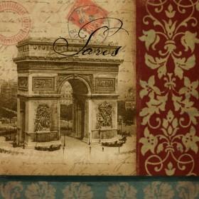 Vue Historique - L'arc De Triomphe