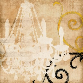Crystal Luster I Sepia