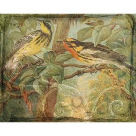 Songbirds & Scrollwork I