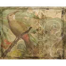 Ornamental Pattern & Bird I