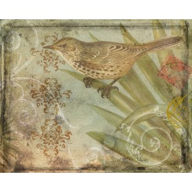 Ornamental Pattern & Bird III
