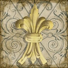 Golden Fleur De Lys I