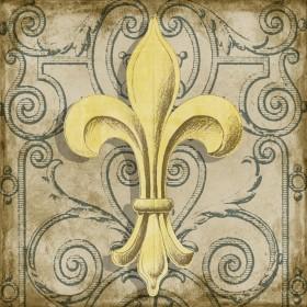 Golden Fleur De Lys II