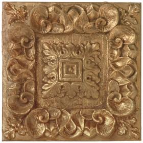 Copper Leaf Rosette